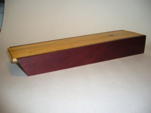 Birch and Bloodwood Box